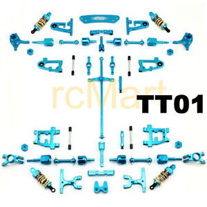 YR Conversion Kit (BU) Upgrade version Tamiya TT01 1:10 RC Car Hop ups Upgrade