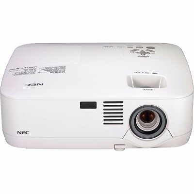 nec home cinema projector new lamp 4000 hours + hdmi