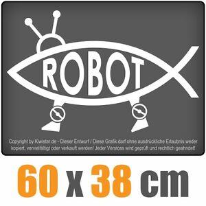 ROBOT-PESCE-chf0282-bianco-60-x-40-cm-adesivo-lunotto-posteriore-auto