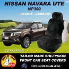Sheepskin Black Seat Covers