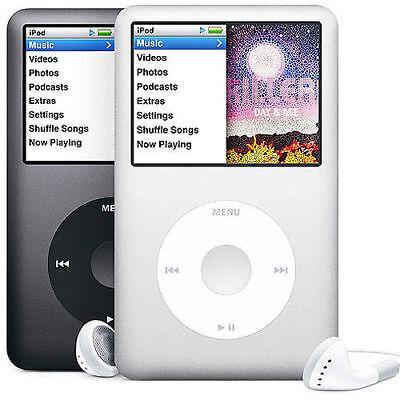 Apple iPod classic Pick Generation Black or Silver (160 GB) (120 GB) (80 GB)