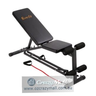 Five Adjustable Positions Weight Bench Ab Press Exercise