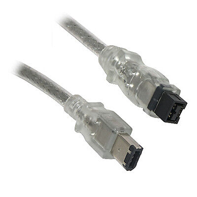 3M Firewire 800 to 400 9 Pin to 6 Pin Cable Lead...
