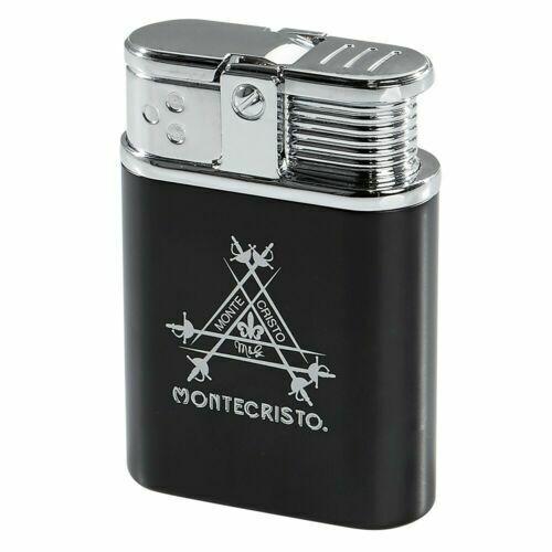 Montecristo Table Top Triple Flame Torch Cigar Lighter Made by Vertigo - New