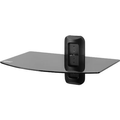 Audio Video Stands Mounts - Etec EXSS117 A/V Component Wall Mount Stand - 1 Shelf