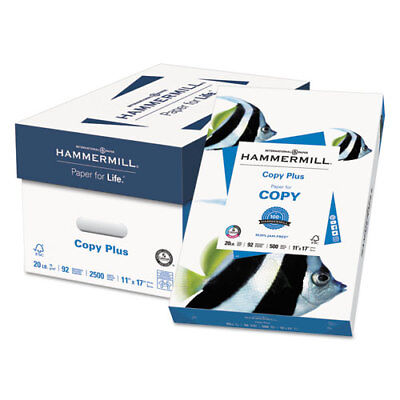 Copy Plus Print Paper 92 Bright 20lb 11 X 17 White 500ream