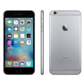 Like New: iPhone 6 plus 128GB space grey refurbished sealed.