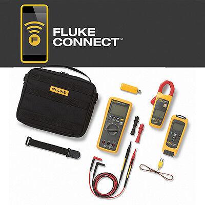 Fluke Flk-3000 Fc Hvac Multimeter Ac Current Temperature Hvac Kit