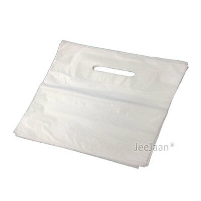 500 White Patch Handle Carrier Gift Retail Shopping 22