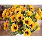 Sunflower Bunches Décor Fabric