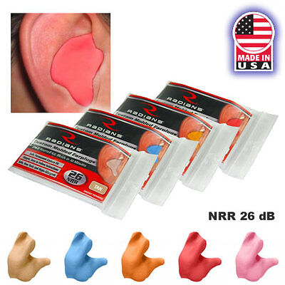 Radians Cep001 Custom Molded Easy Fit Ear Plugs 10 Minute Free Us Shipping