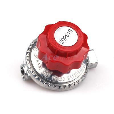 Lpg Regulator - Adjustable 0 to 20psi High Pressure Propane Regulator LP LPG Gas Grill 1/4