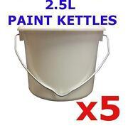Plastic Paint Pots