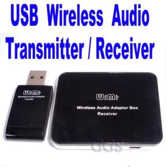 Wireless USB Audio Transmitter and Receiver