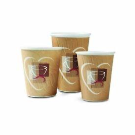 garda 8-9oz embossed hot drink cup