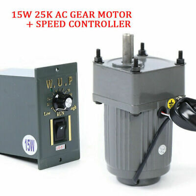Ac 110v Geared Motor 125 Single-phase Gearmotor Wvariable Speed Controller