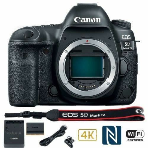 Canon Eos 5d Mark Iv Dslr Camera (body Only) Usa Model Canon Warranty