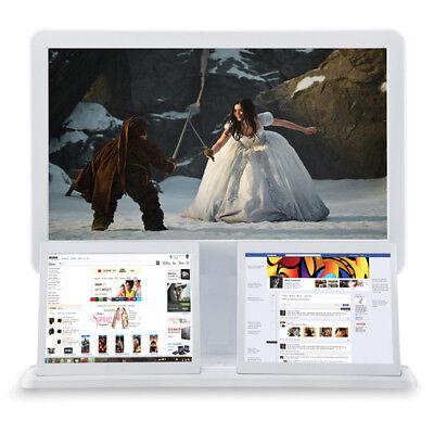 """Astar AMP-2208 All-In-One 22"""" Triple Screen Desktop PC"""