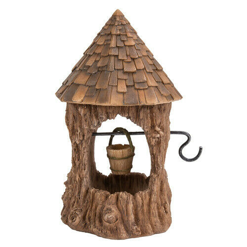 FAIRY WISHING WELL Mini Garden Home Faerie Miniature Woodland Faery House