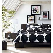 Crate and Barrel King Duvet Cover