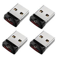 SanDisk 64GB 32GB 16GB 8GB CZ33 Cruzer Fit USB 2.0 Flash Pen Mini Drive OTG Lot