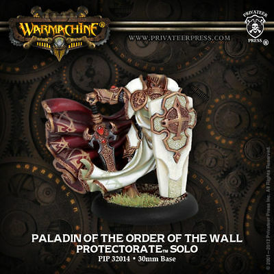 Warmachine: Protectorate of Menoth Paladin of the Order of the Wall PIP 32014
