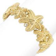 Gold Starfish Bracelet