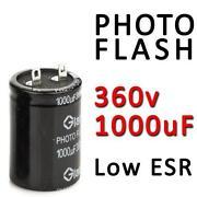 Photo Flash Capacitor