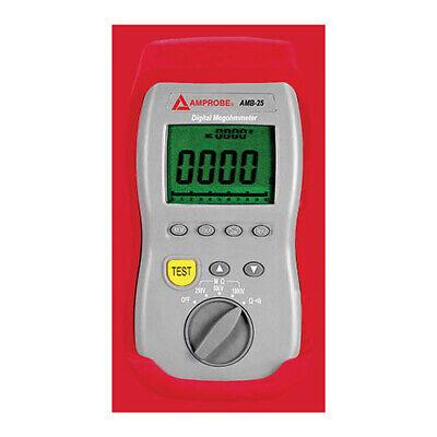 Amprobe Amb-25 Digital Insulation Tester W 1000v Dc Max Test Voltage