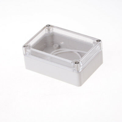 85x58x33 Waterproof Clear Cover Electronic Cable Project Box Enclosure Case LY](waterproof electronics project box)