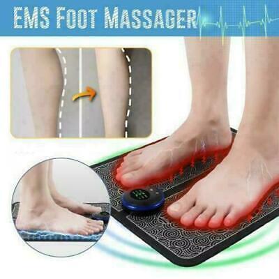 EMS Beinumformung Fußmassagegerät Pad Blutmuskelzirkulation Linderung Schmerzen