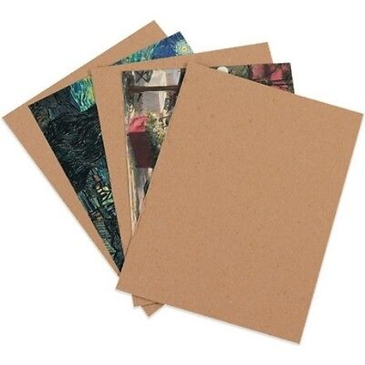 "200 8.5x11'' Chipboard Cardboard Craft Scrapbook Scrapbooking Sheets 8.5""11"""