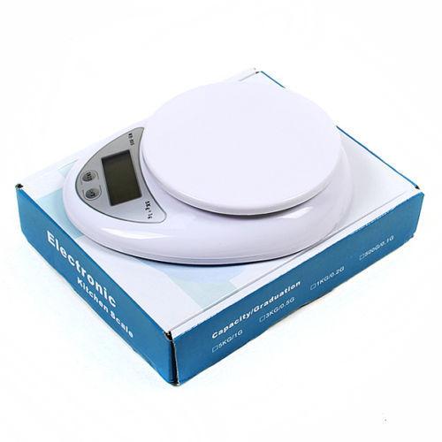 Neu 5kg 5000g/1g Digitale Küchenwaage Digital Küche Scale Waage Präzisionswaage
