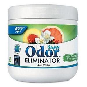 Bright Air Odor Eliminating Gel, 14Oz  Bright Air White Peach & Citrus