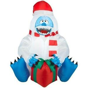 Christmas inflatable ebay for Abominable snowman holiday decoration