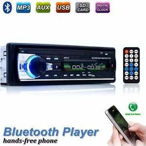 Bluetooth Car In-dash Radio Stereo Head Unit Player MP3/USB//AUX West Melbourne Melbourne City Preview
