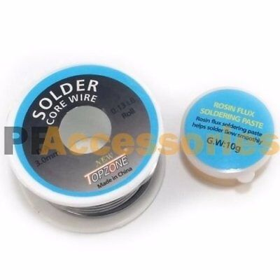 3mm 60g Rosin Core Flux 1.2 Tin Lead Roll Soldering Solder Wire 60 Gram