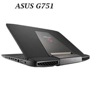 ASUS ROG 17 '' G751JM ,Intel i7 3.5 GHZ 20GB , 1TB HDD,Nvidia GTX 860M 2gb backlit keyboard, McOffice Pro 2016