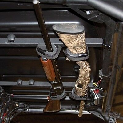 Gun Rack Accessories - UTV OVERHEAD GUN RACK / CARRIER for Polaris Ranger - Rifle Shotgun Universal Fit