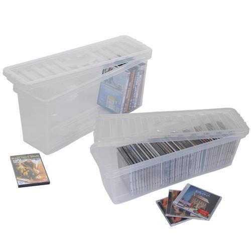 Cd Storage Box Ebay