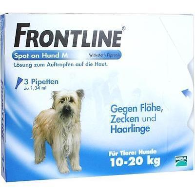 FRONTLINE Spot on H 20 Lösung f.Hunde 3 St PZN 662882