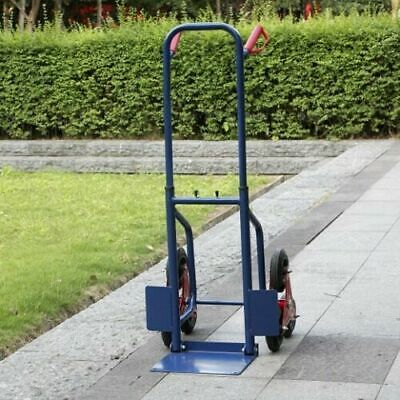 440lbs Heavy Duty Stair Climbing Moving Dolly Hand Truck Warehouse Factory Cart