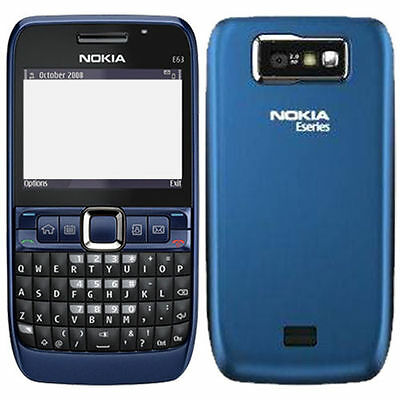Nokia E63 QWERTY Keypad | Camera Mobile Phone | Black/Red/Ultra Blue for sale  DELHI