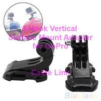 J-hook vertical surface mount adapter for GoPro Hero