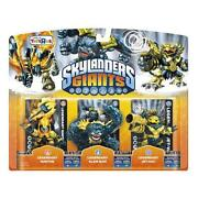 Skylanders Giants Legendary 3 Pack