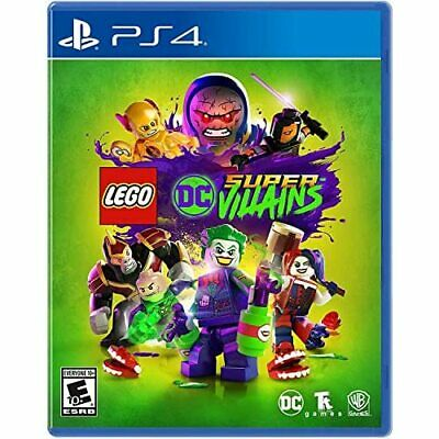 Lego DC Super-Villains For PlayStation 4 PS4 Very Good 7E