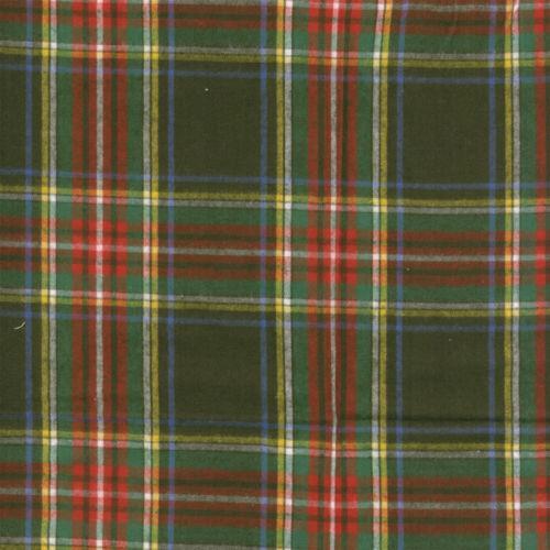 Red Green Plaid Fabric Ebay
