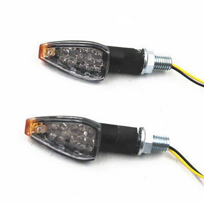 Universal 10mm LED Turn Signal Light Indicator Motorcycle Dirt bike Old School