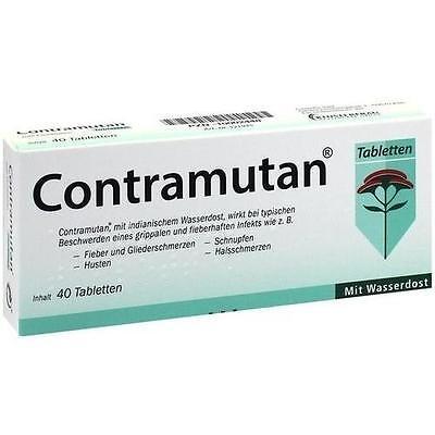 CONTRAMUTAN Tabletten 40 St PZN 10002448