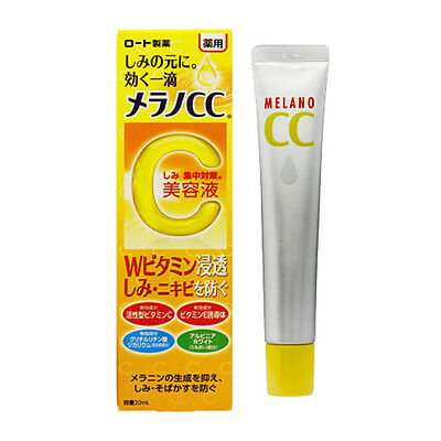 MELANO CC☆ROHTO Japan-Intensive Anti-Spot Essence 20mL with Vitamins C, E ,JAIP